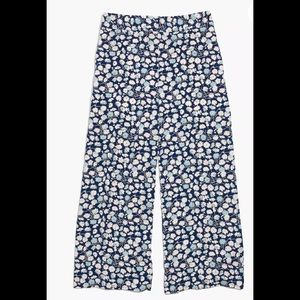 Madewell | Huston Pull-On Crop Pants French Floral